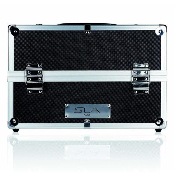 empty case alu pro with storage compartment black