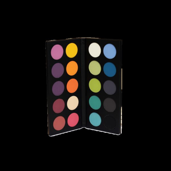Palette of 20 eye shadows Pro combination 50g